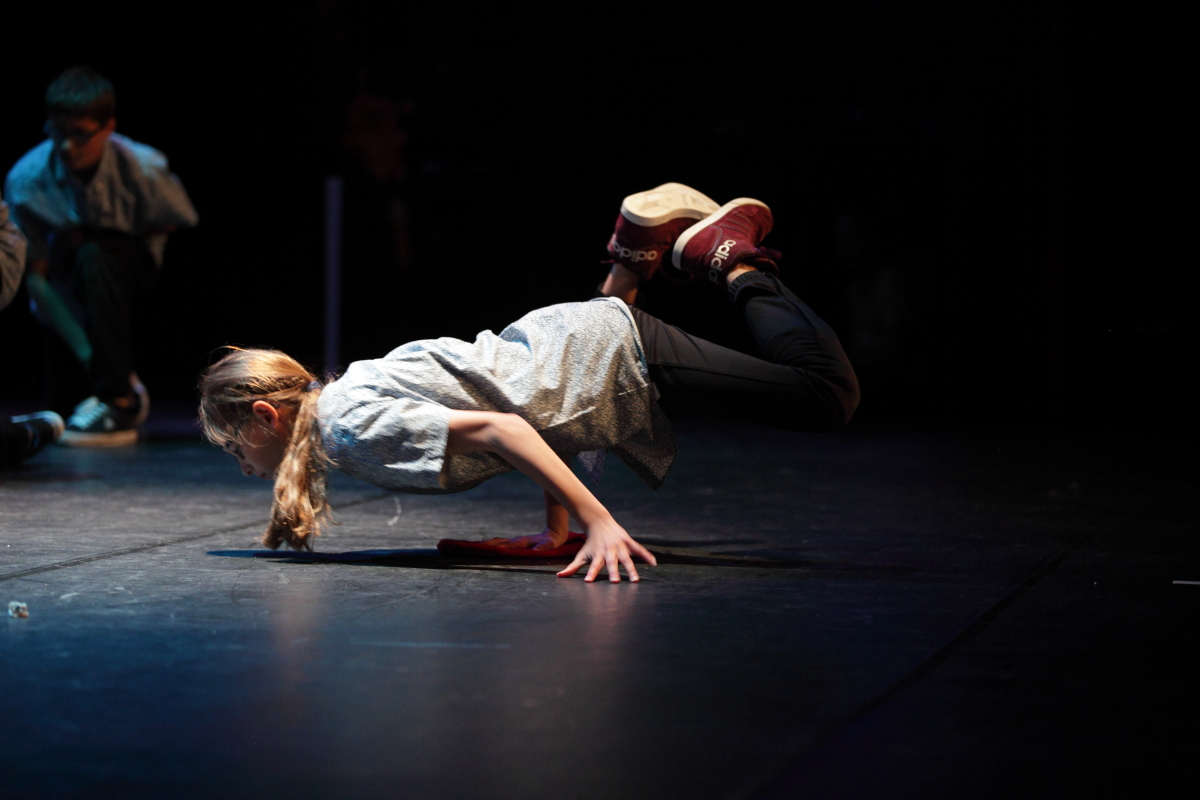 Breakdance Stoere Hippe Dansles Voor Zowel Jongens Als Meiden
